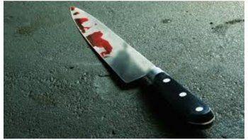 Una mujer fue atacada con un arma blanca por su pareja