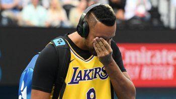 Emotivo homenaje de Nick Kyrgios a Kobe Bryant