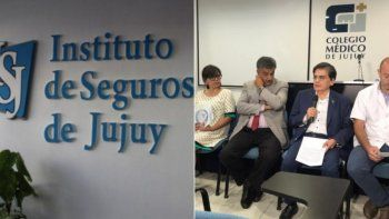 Deuda del ISJ: El Colegio Médico recibió otra propuesta y define si corta el servicio