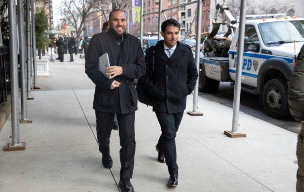 Nos fue muy bien, dijo Guzmán sobre las reuniones en Nueva York por la deuda