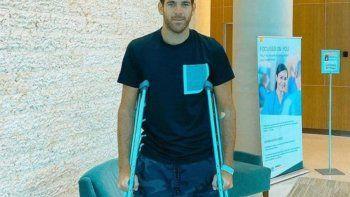 Delpo tras nueva operación: Gracias por el amor y apoyo en estos momentos difíciles