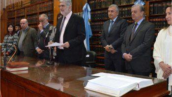 Escándalo en la justicia: el descargo del presidente del Superior Tribunal