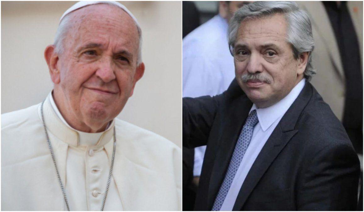 Aborto, deuda y hambre: lo que hablará Alberto Fernández con el Papa Francisco