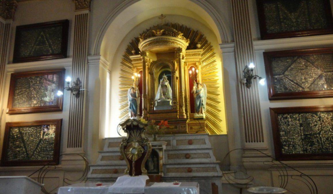 De no creer: robaron ofrendas y limosnas a los santos de la Iglesia Catedral