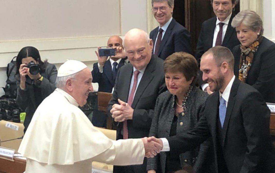 Respaldo del Papa Francisco a la Argentina por la deuda frente al FMI