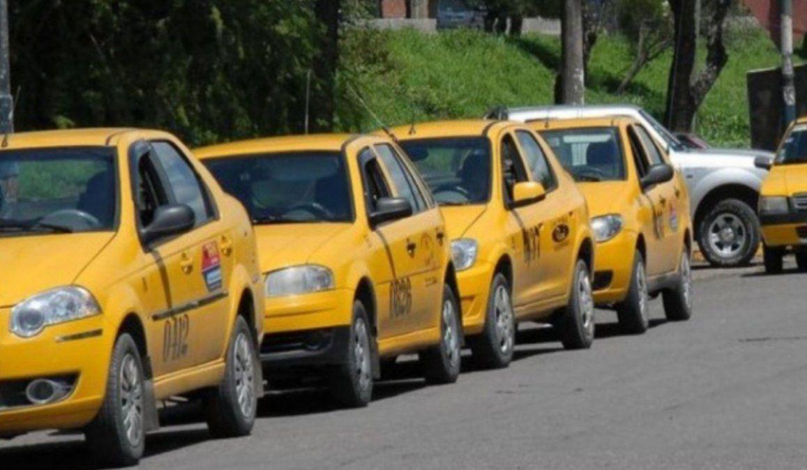 Taxistas jujeños piden botones antipánico para evitar hechos delictivos