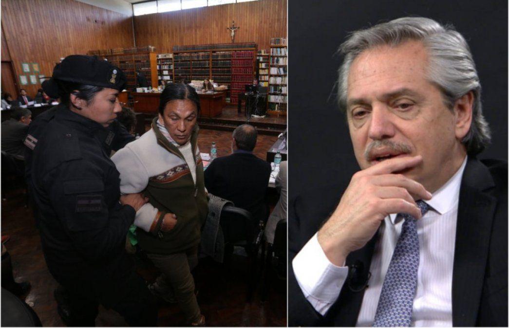 Alberto volvió a hablar de Milagro Sala y de los presos políticos