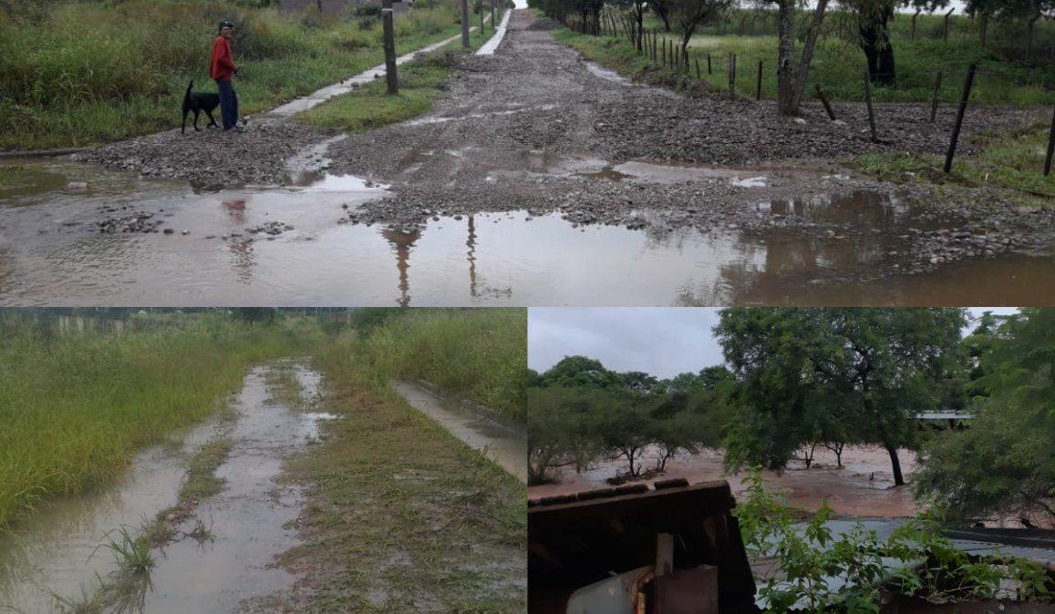 Las lluvias vuelven a desnudar la falta de obras en la provincia