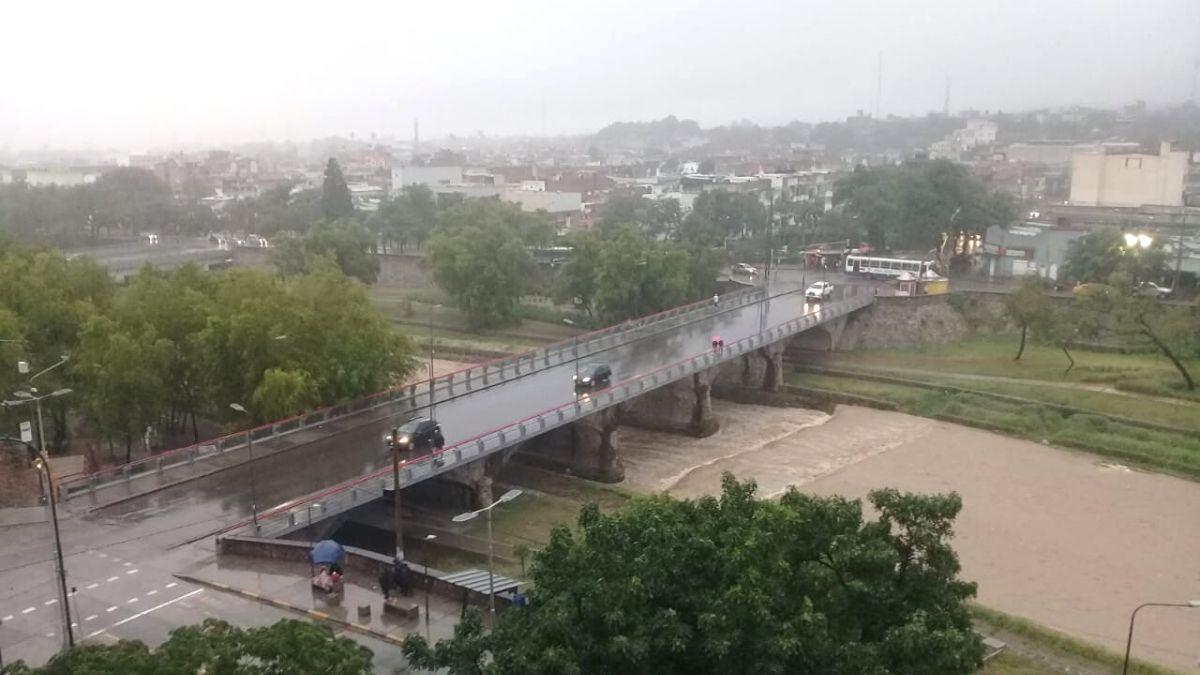 Alerta por tormentas fuertes para el noreste de Córdoba