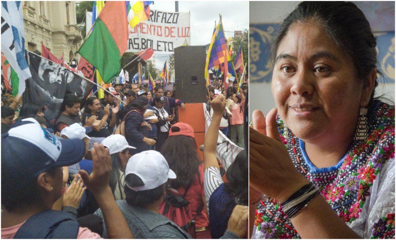 El hambre en Jujuy tiene nombre y apellido, se llama Natalia Sarapura