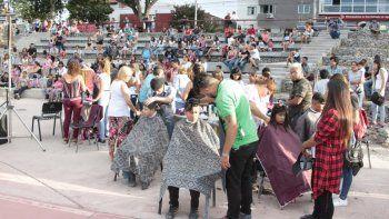 Se suspendió el evento solidario de cortes de cabello por útiles