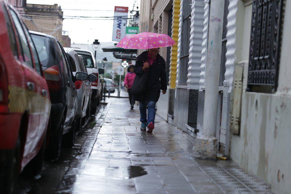 Anuncian lluvias para todo el fin de semana en Jujuy