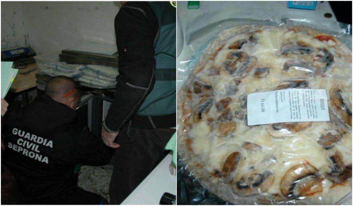 Detuvieron en España a una pareja argentina que vendía pizzas de manera clandestina