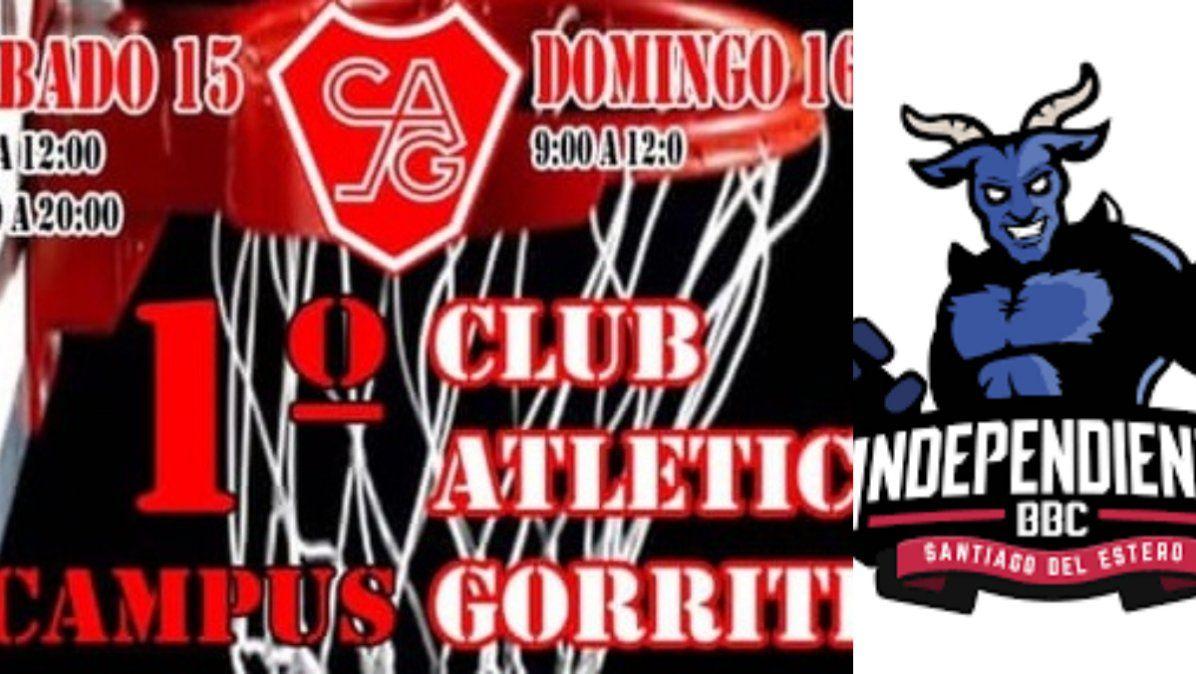 Campus nacional de básquet en el club Gorriti