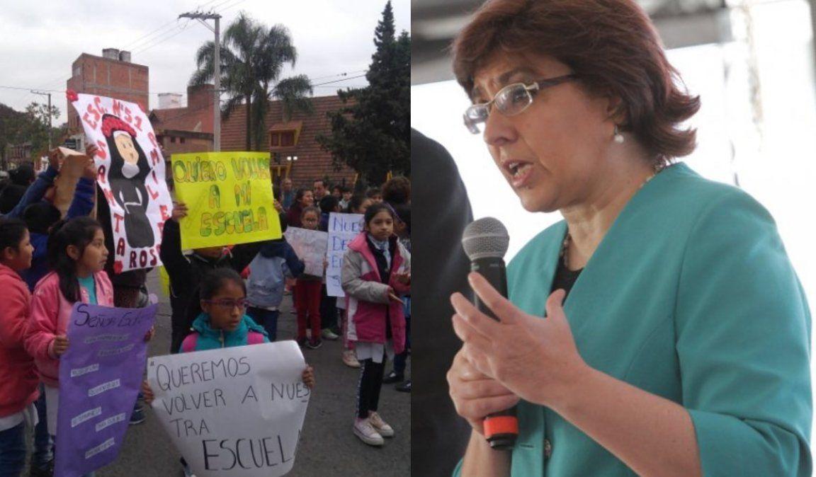 Escuela Santa Rosa: Calsina se comprometió a que la obra esté lista a mediados de marzo
