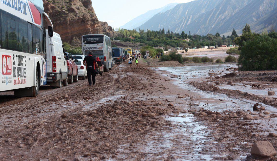 La Dirección de Emergencias aconseja no subir a La Quebrada