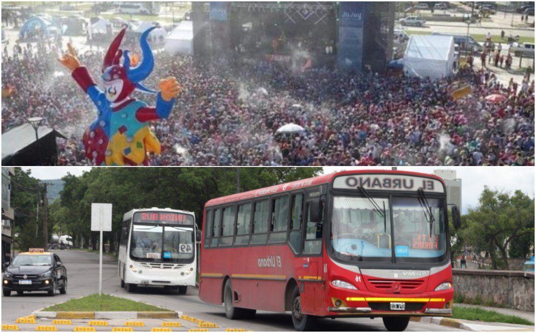 Habrá más colectivos para el carnaval en Ciudad Cultural