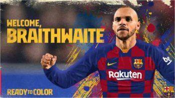 Martin Braithwaite, nuevo refuerzo de Barcelona