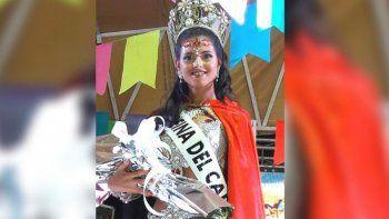 Camila Montanari, flamante reina del Carnaval de San Pedro