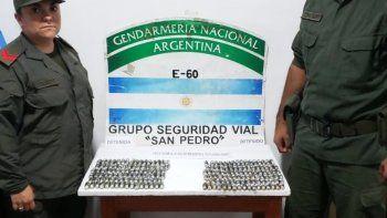 Detienen a una pareja que ingirió 194 cápsulas con cocaína
