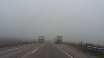 Precaución por lloviznas y neblina en Bárcena