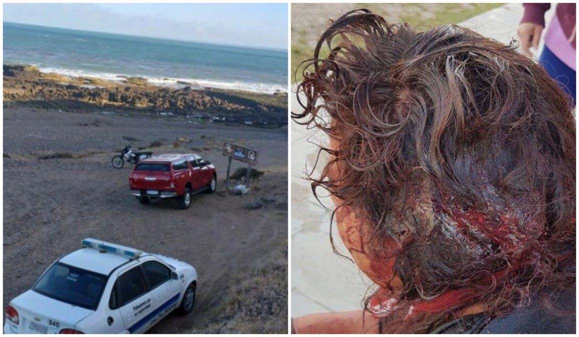 Violaron a una turista y arrojaron a su hijo de 4 años a un acantilado