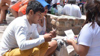 Carnavalodromo: Preservativos, test rápido de VIH y asesorías por consumo problemático