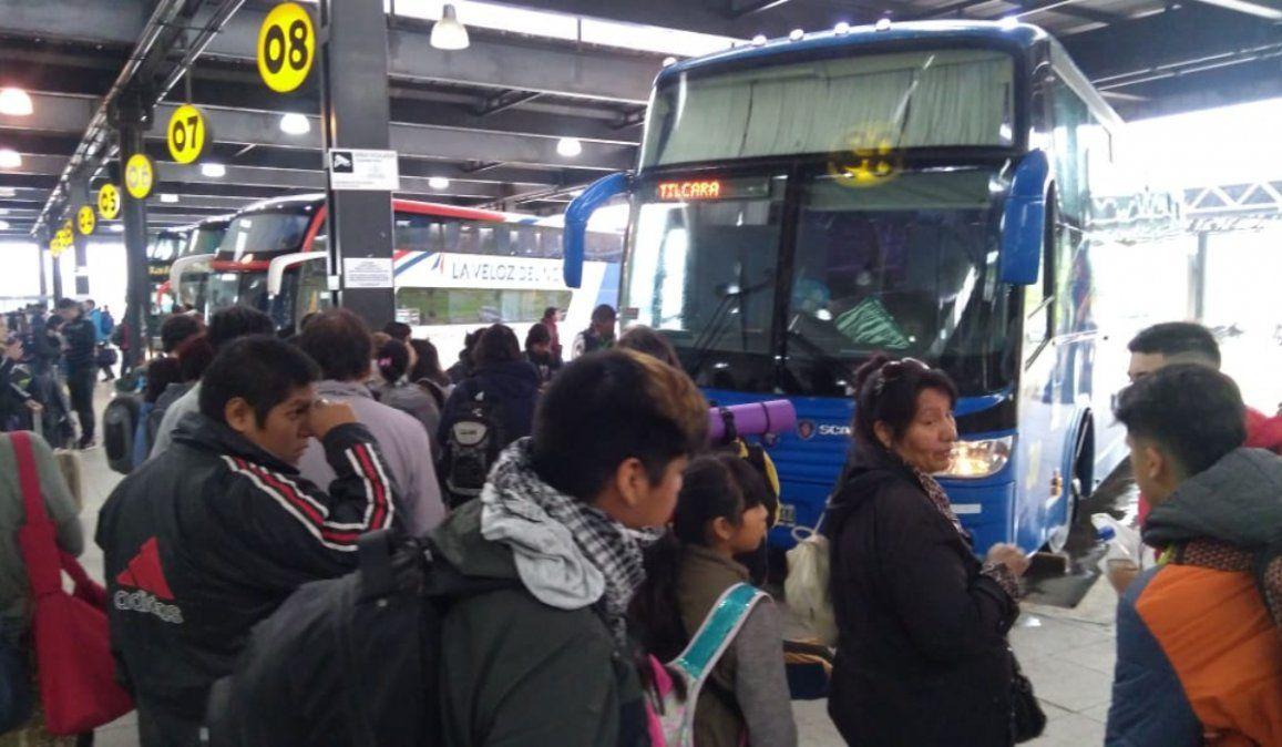 Carnaval: La preocupación de UTA por el estado del transporte