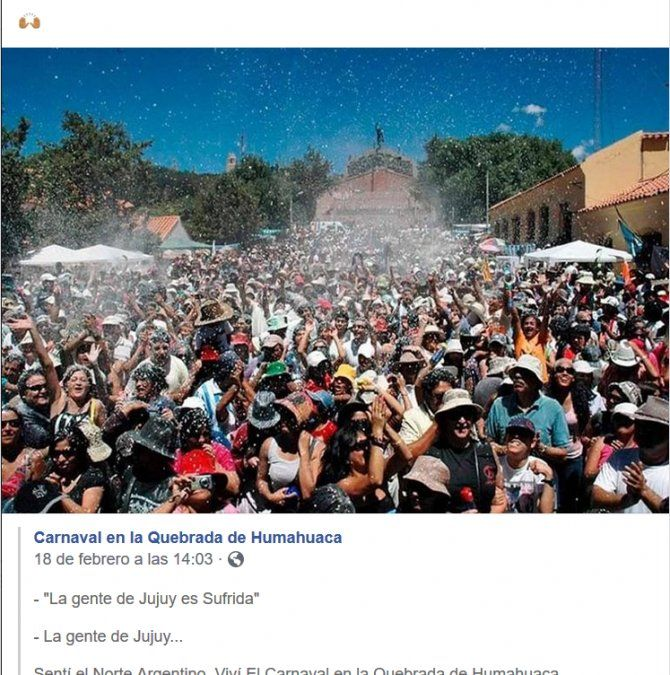 Carnaval en las redes: estallaron los memes por los jujeños sufridos