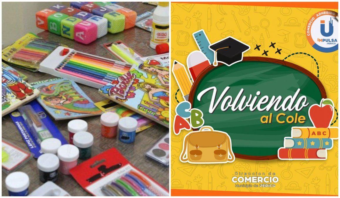 Vuelta al cole: lanzan una canasta básica escolar en librerías de Perico