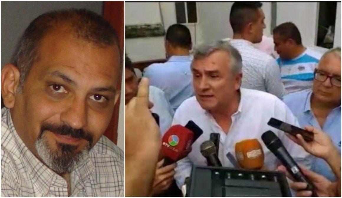Periodista presentó una denuncia contra el gobernador en el INADI