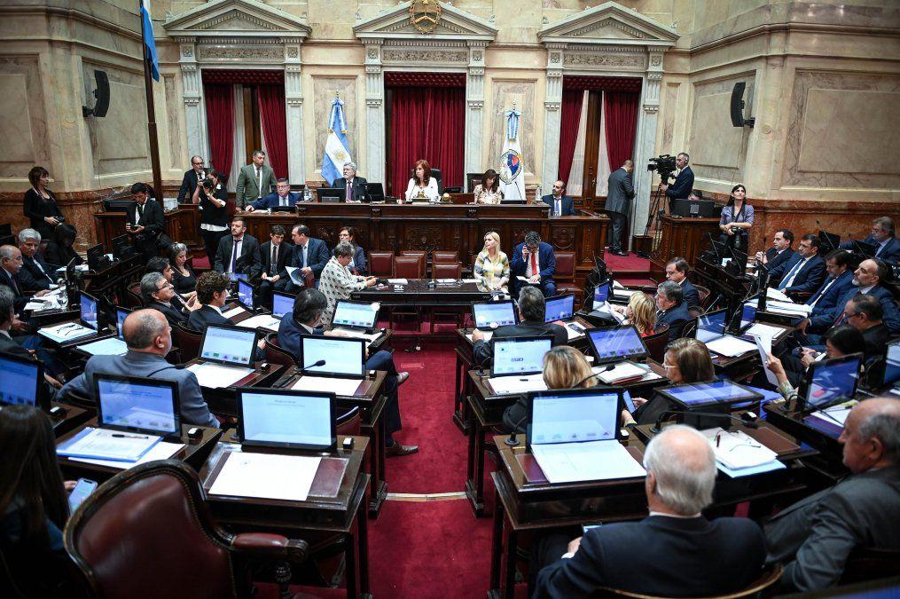 Foto: prensa Senado de la Nación