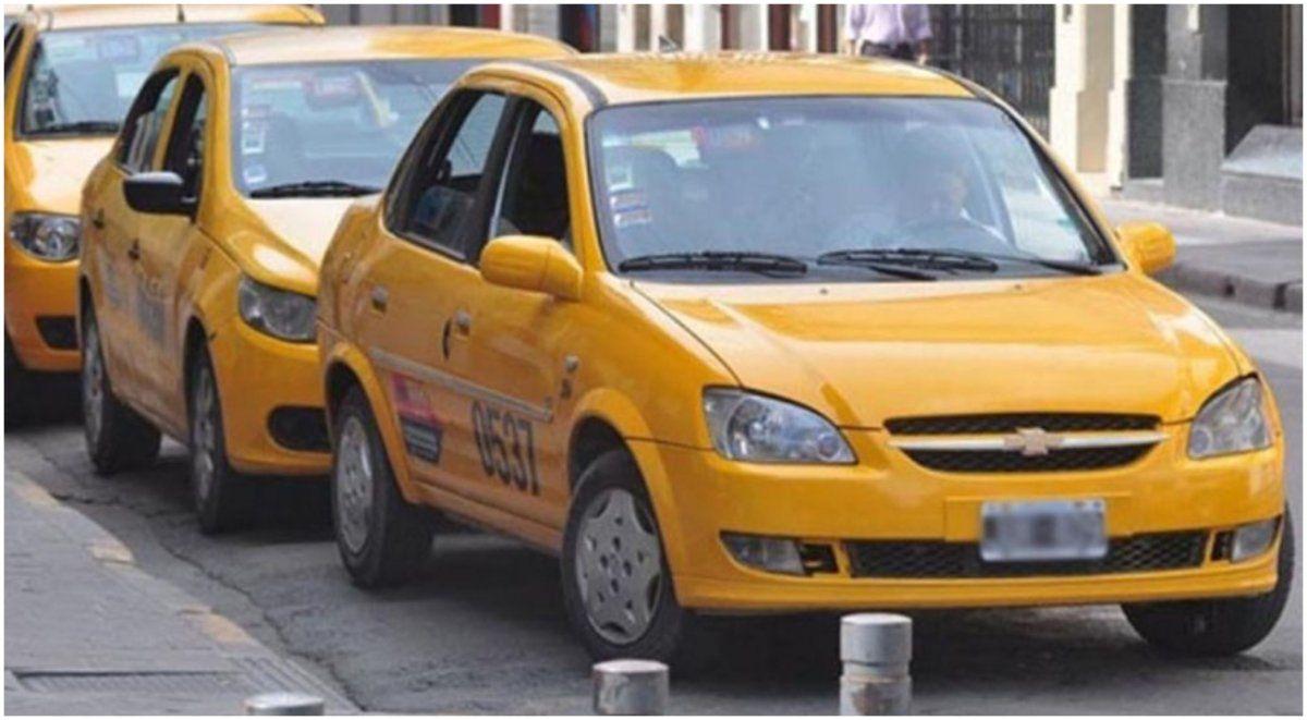 La difícil situación de los taxistas en cuarentena