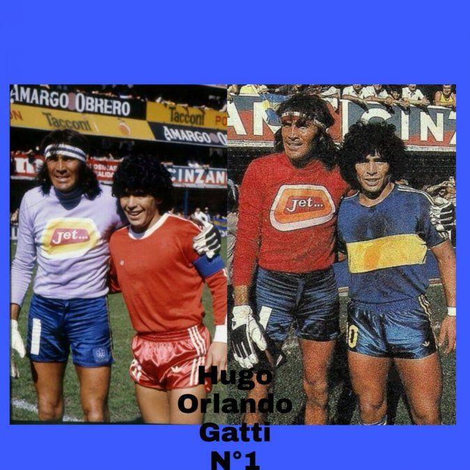 El mensaje de apoyo de Maradona a Gatti