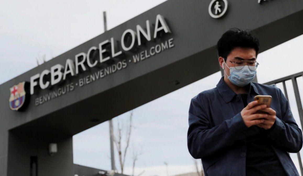 El Barcelona tiene dos casos confirmados de coronavirus