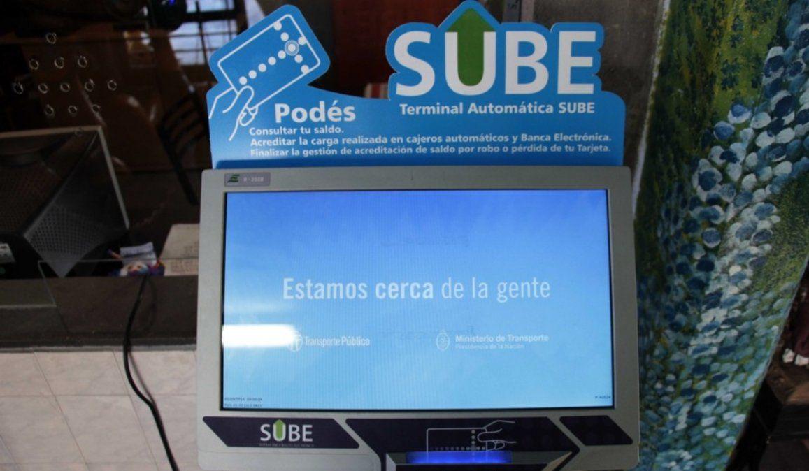 Se establecieron puntos clave para validar la carga de la tarjeta SUBE