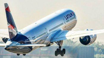 Latam Argentina suspende todos sus vuelos nacionales e internacionales