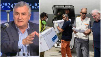 Morales llegó a un acuerdo con el gobierno nacional por los respiradores