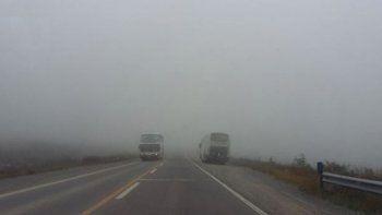 Las Rutas se mantienen transitables, precaución por neblina en Bárcena