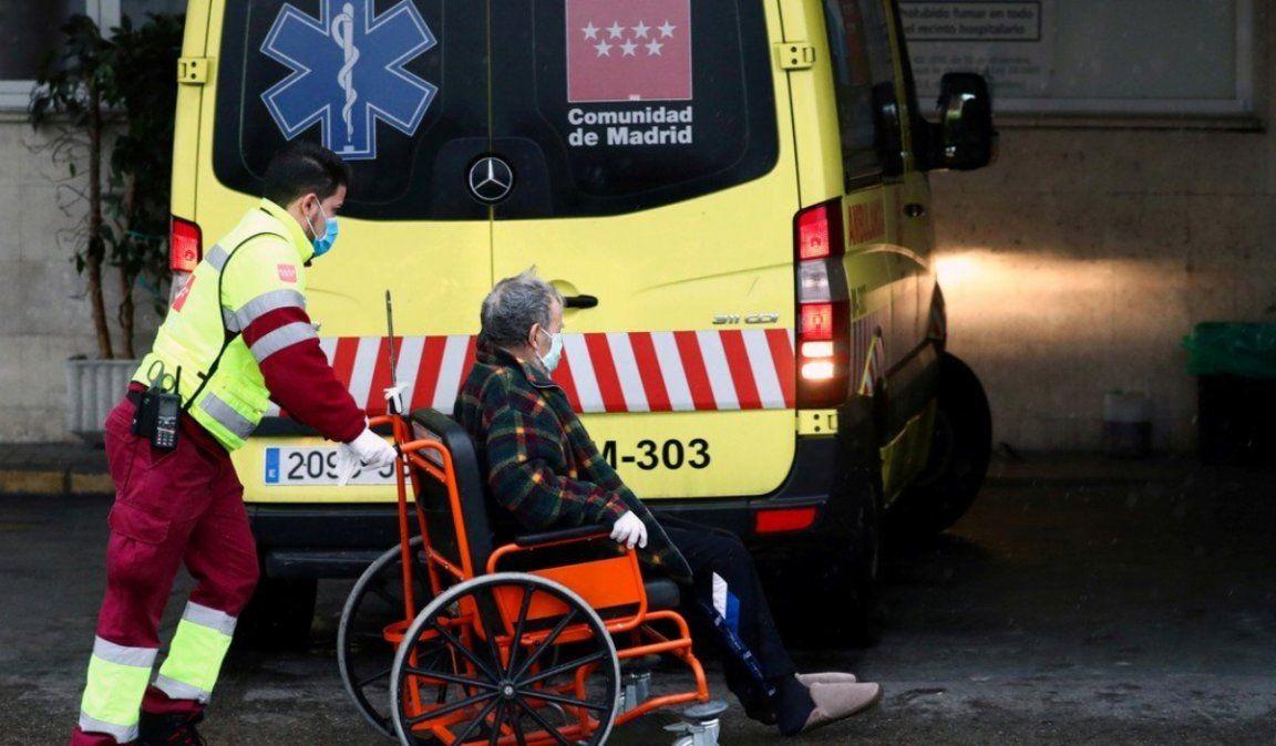 España registró su cifra diaria más alta: 849 muertes por coronavirus