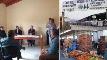 Reunión entre gobierno y comerciantes para reabrir la Feria mayorista de Perico