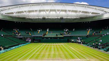 Cancelaron Wimbledon, por primera vez desde la 2da Guerra Mundial