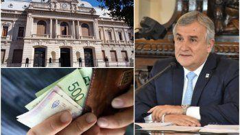 El gobernador anunció que continuarán con la reducción de sueldos a los funcionarios
