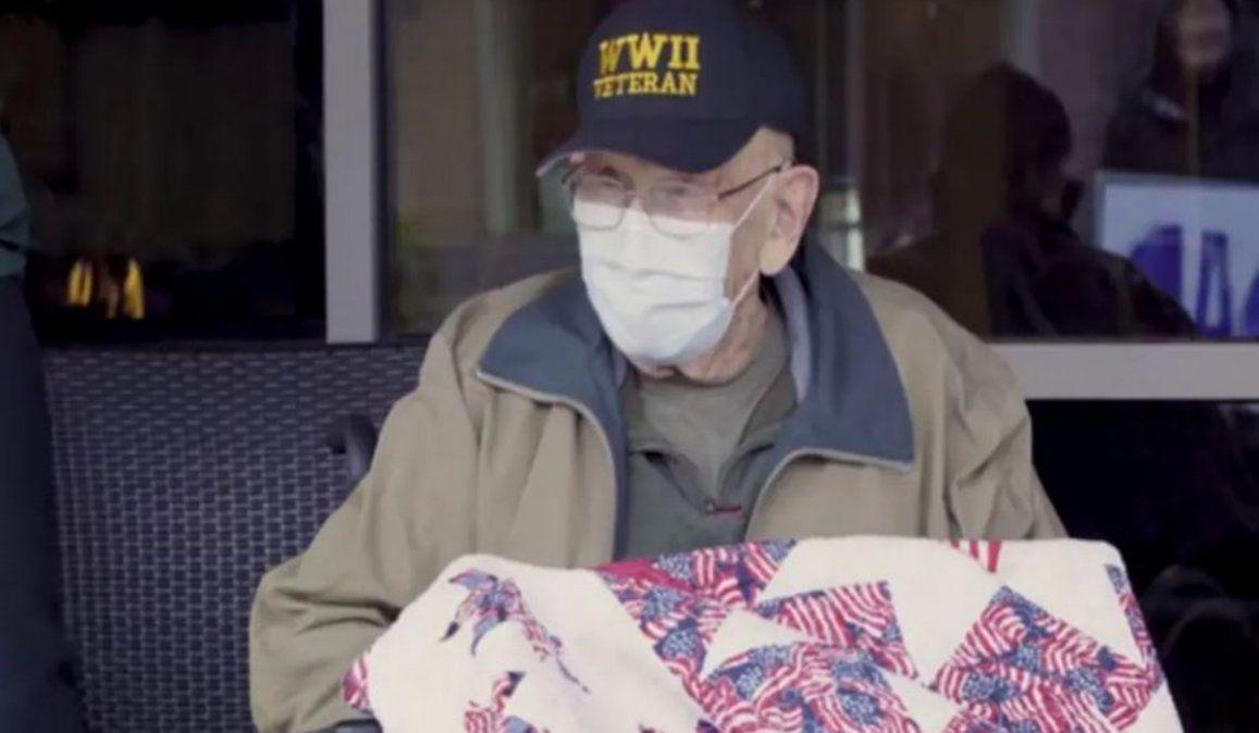Tiene 104 años, sobrevivió la gripe española, la Segunda Guerra Mundial y ahora el coronavirus