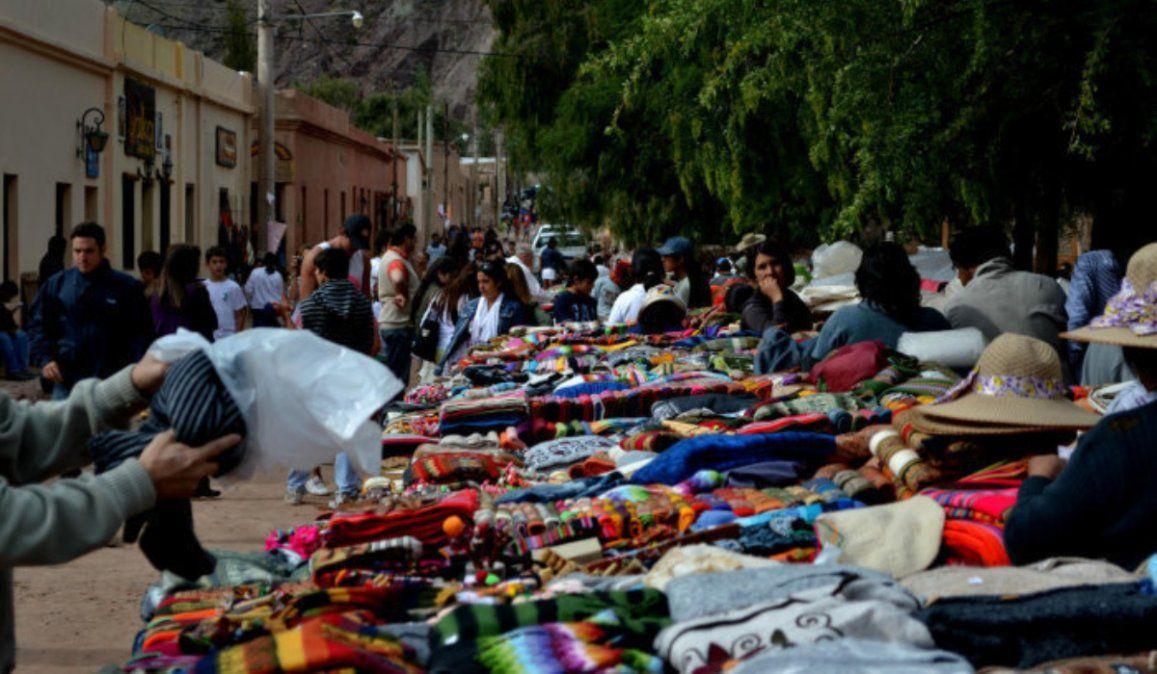 Artesanos de Purmamarca crearon un mercado online para hacer frente a la crisis