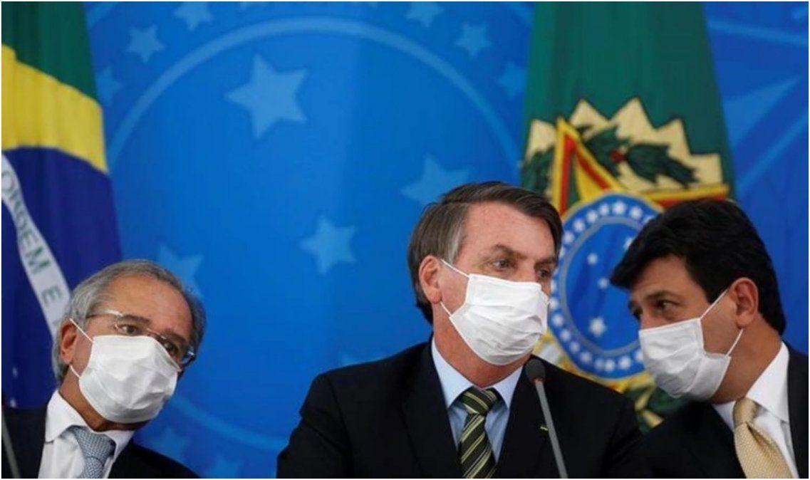 Récord y alarma en Brasil: se registraron 133 muertos y más de 2.000 casos