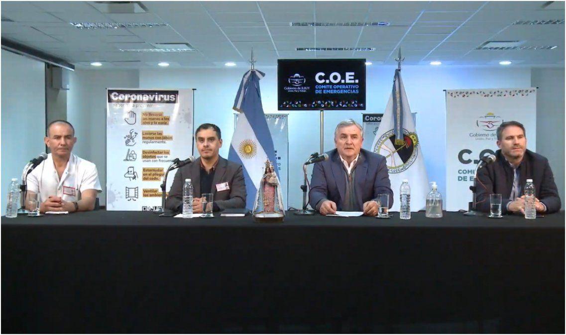 Jujuy no reportó nuevos casos de coronavirus