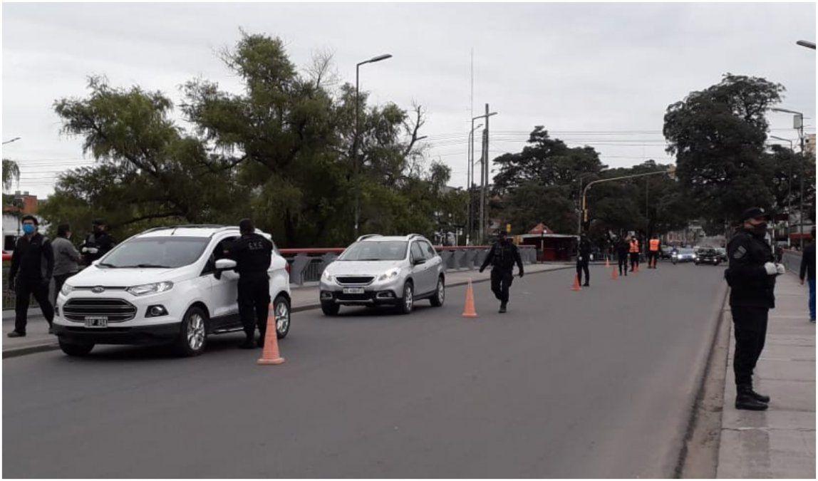 Controles: 400 vehículos fueron demorados por no justificar su circulación