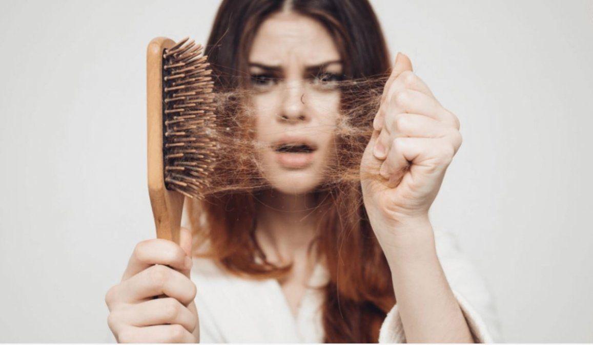 ¿Perdés mucho pelo en la ducha o cuando lo cepillás?