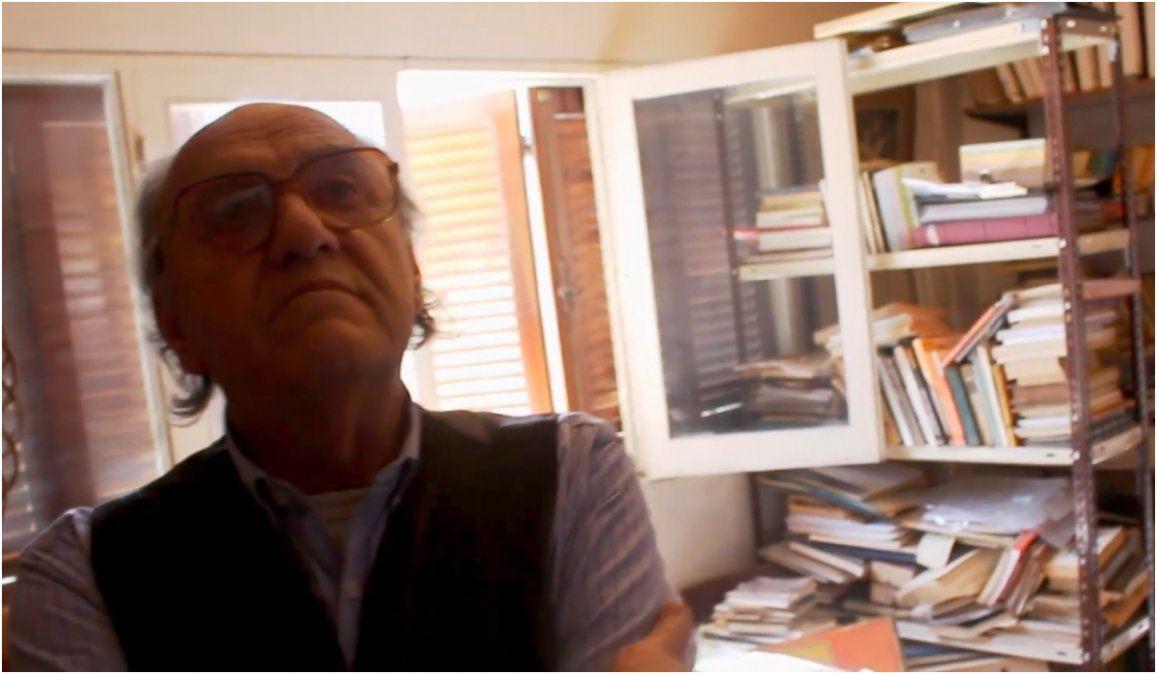 Se estrena el documental de Néstor Groppa y el actor Chuña Iriarte personifica al escritor